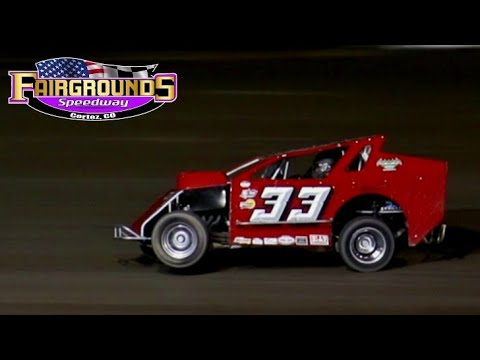 Fairgrounds Speedway IMCA Mod Lite Main Event 8/13/21 - dirt track racing video image