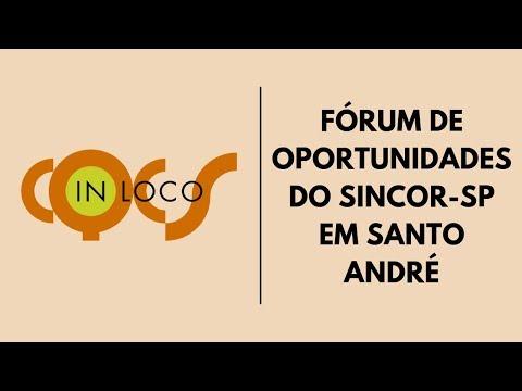 Imagem post: Fórum de Oportunidades do Sincor-SP em Santo André