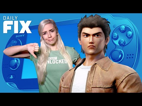 SAD News for PlayStation Vita and Shenmue III - IGN Daily Fix - UCKy1dAqELo0zrOtPkf0eTMw