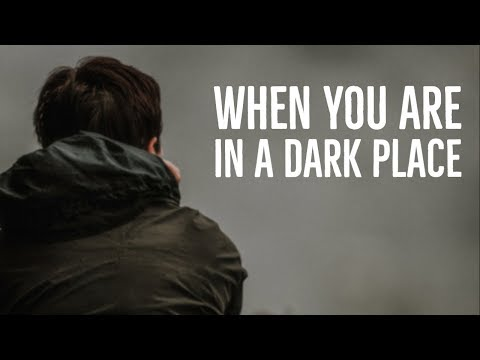 When You Are in a Dark Place, Let Me Pray for You