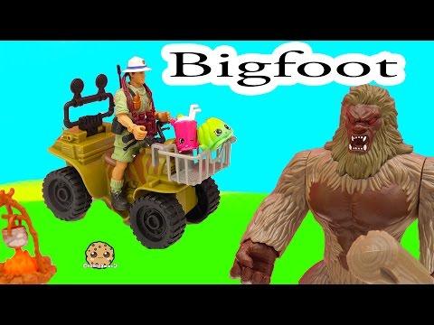 Animal Planet Bigfoot Hunt Adventure Playset with Season 4 Shopkins - Cookieswirlc Video - default