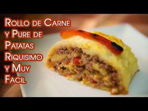 Rollo de Carne y Pure de Patatas Riquisimo y Muy Facil - UCQpwDEZenMK6rzhLqCZXRhw