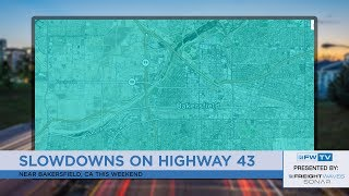 Weekend delays on routes near Tacoma, Little Rock, and Bakersfield - Traffic Jams