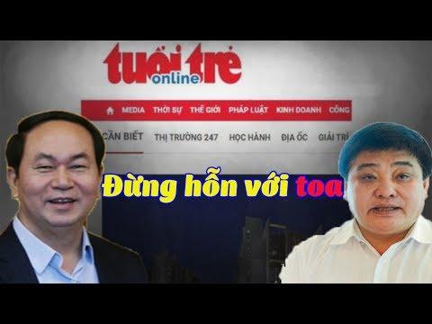 Vai trò của Trần Đại Quang trong việc  é/p báo tuổi trẻ online c/h/ế/t lâm sàng