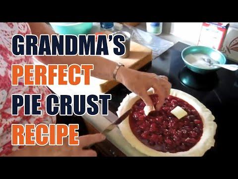 Grandma's Perfect Pie Crust Recipe - UCzIW4HKBwHovmw3PfvJrK0A
