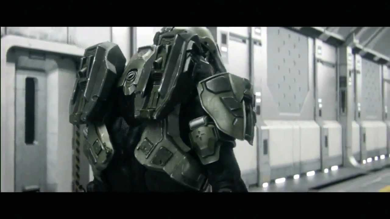 Halo 4 Master Chief Shows His Real Face Racer Lt