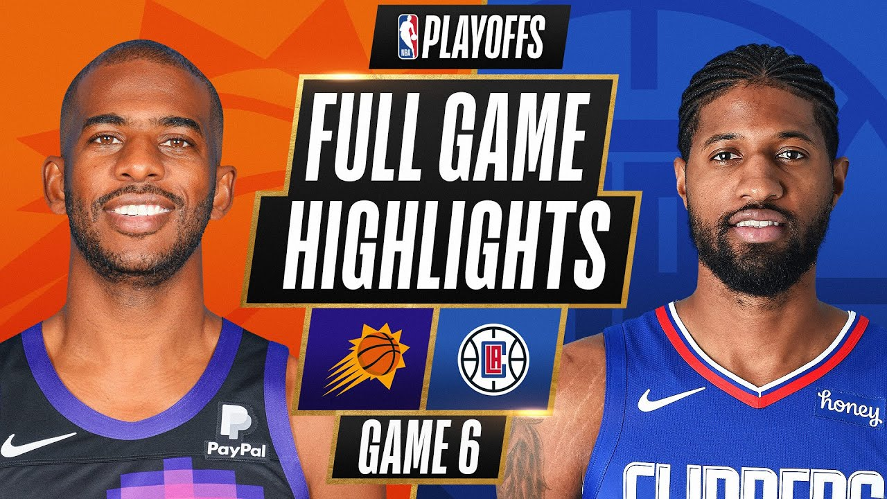 #2 SUNS at #4 CLIPPERS | FULL GAME HIGHLIGHTS | June 30, 2021