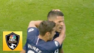 Erik Lamela equalizes quickly for Spurs against Manchester City | Premier League | NBC Sports