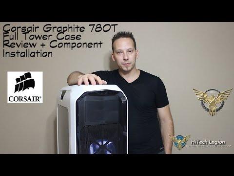 Corsair Graphite Series 780T Case Review + Component Installation - UCCcDWx7QLF_L4D7TNrsljJA