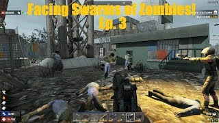 An Explosive Ending to Day Three!! - 7 Days to Die Multiplayer Gameplay Ep. 3