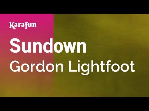 Karaoke Sundown - Gordon Lightfoot * - UCbqcG1rdt9LMwOJN4PyGTKg