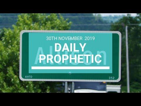 Daily Prophetic 30 November Word 6