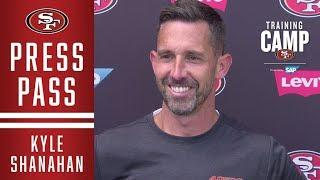 Kyle Shanahan Recaps Practices with Denver Broncos
