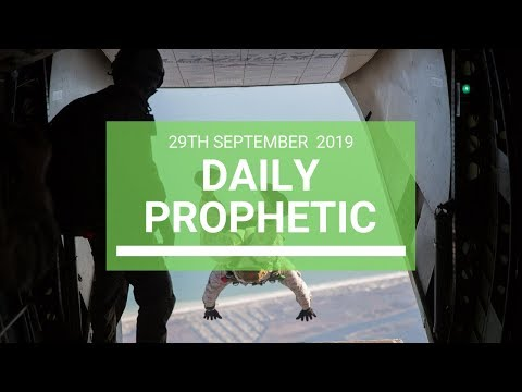 Daily Prophetic 29 September   Word 13
