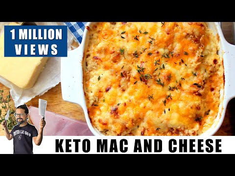 Keto Mac and Cheese (Cauliflower Cheese) | Keto Recipes | Headbanger's Kitchen