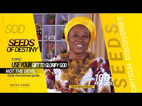 Dr Becky Paul-Enenche - SEEDS OF DESTINY - MONDAY 10TH FEBRUARY, 2020