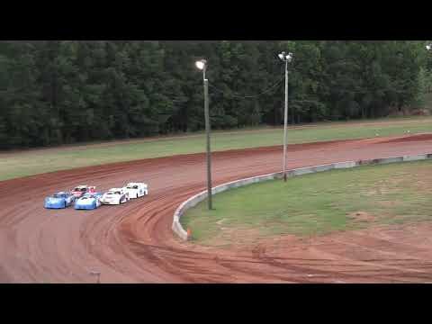 06/25/21 Evans Delivery Mini Late Model Heat and Feature Races - Oglethorpe Speedway Park - dirt track racing video image