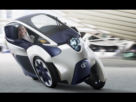 Is Toyota's 3-Wheel iRoad the Future of Cars? - CES 2014 - default