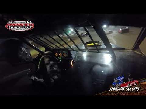#32 Richard Harrington - Midwest Mod - 10-3-2020 Springfield Raceway - In Car Camera - dirt track racing video image