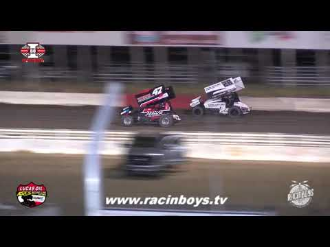 Lucas Oil ASCS Highlights I 80 Speedway 9 11 21 - dirt track racing video image