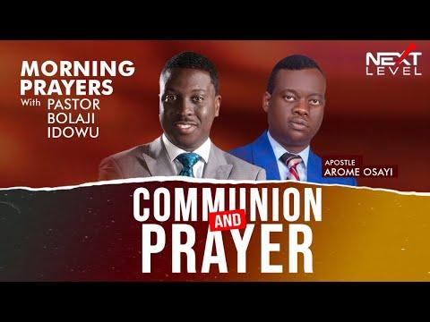 Next Level Prayer: Pst Bolaji Idowu 4th November 2020