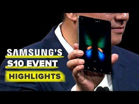 Samsung's S10, Galaxy Fold event highlights - UCOmcA3f_RrH6b9NmcNa4tdg