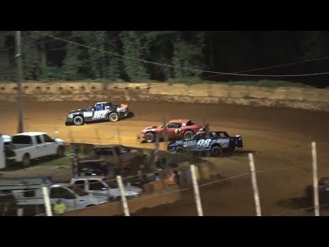 Stock V8 at Winder Barrow Speedway August 21st 2021 - dirt track racing video image
