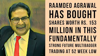 Raamdeo Agrawal has silently bought shares worth Rs 153 Million, even as this hit its 52 Week Low