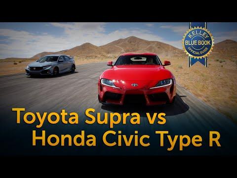 Toyota Supra vs Honda Civic Type R - UC1UMshhDjWrHIDFWkVKZxbw