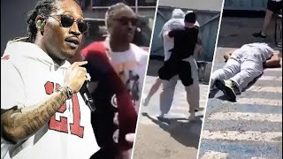 BREAKING NEWS! FUTURE SAYS HE DID NOT SEE HIS BODYGUARD GET KNOCKED OUT SAYS REPORT!