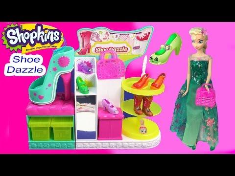 Shopkins Season 3 Playset Shoe Dazzle Collection Fashion Spree Exclusive Toy Video Disney Queen Elsa - UCelMeixAOTs2OQAAi9wU8-g