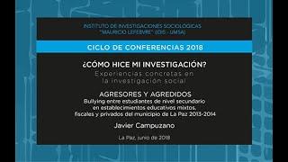 ¿Como hice mi investigación? - Javier Campuzano