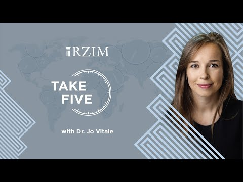 Exploring Jesus' difficult questions  Dr. Jo Vitale  TAKE FIVE  RZIM