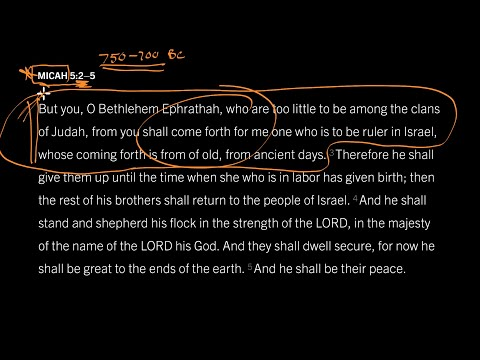 Micah 5:2 // Part 1 // How Did Prophets See the Future?