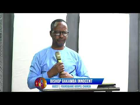 FOURSQUARE TV  70 DAYS OF GREATER GLORY  - DAY 62 WITH BISHOP GAKAMBA INNOCENT 02.09.2021