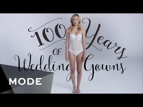 100 Years of Fashion: Wedding Dresses ★ Glam.com - UCrKE6lsllHfJgcUexz3BBhA