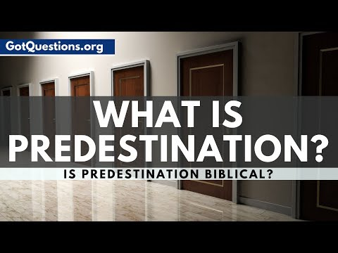 What is Predestination?  Predestination in the Bible  GotQuestions.org