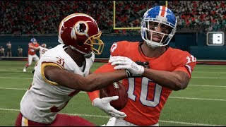 Madden 20 Gameplay - Super Bowl XXII Rematch Denver Broncos vs Washington Redskins – Madden NFL 20