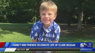 family and friends celebrate life of Clark Reagan