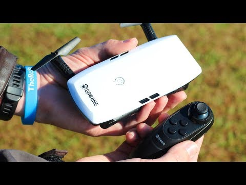 Wii Nunchuck Transmitter Drone - Eachine E56 Camera Quad - TheRcSaylor - UCNd0qqcBpuXCWPM76lDUxqg