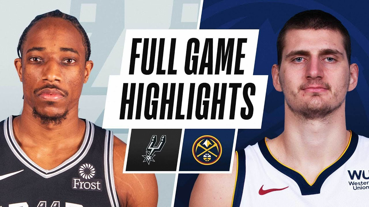 SPURS at NUGGETS | FULL GAME HIGHLIGHTS | April 9, 2021