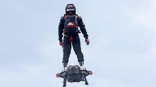 Record du monde en Hoverboard Flyboard Air