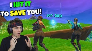 i hit my best clip on fortnite to save this renegade raider... 😱😱😱