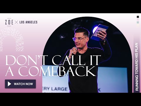 Don't Call It A Comeback  Chad Veach