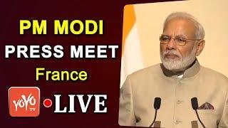Live : PM Modi & France President Macron Joint Press Meet | YOYO TIMES |