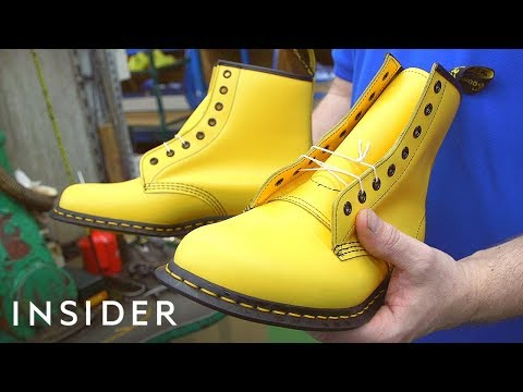 How Dr. Martens' Are Made - UCHJuQZuzapBh-CuhRYxIZrg