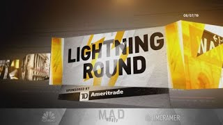 Cramer's lightning round: Take-Two Interactive strong with Red Dead Redemption, NBA 2K franchises
