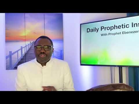 Prophetic Insight September 13, 2021