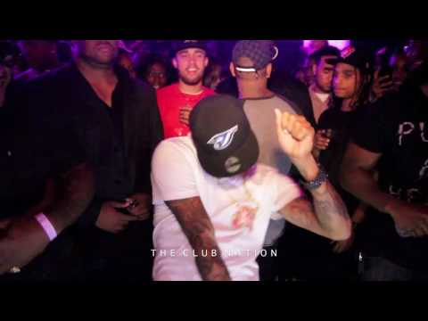 Chris Brown Performs 'Teach Me How To Dougie' Dance