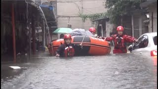 At Least 17 Unaccounted for As Rainstorms Sweep Across Parts of China